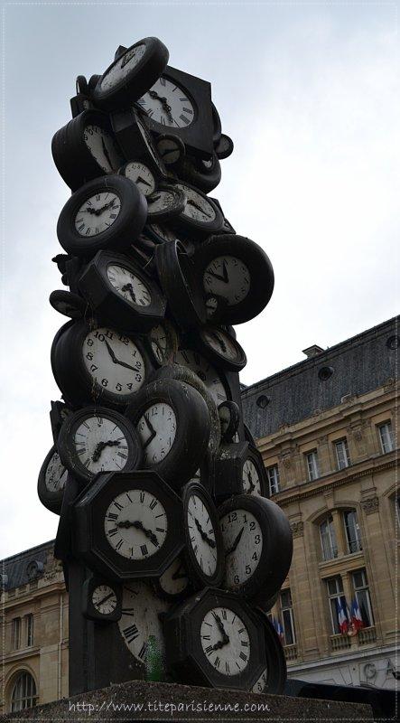 En octobRE , on REcule la montre d'une heure