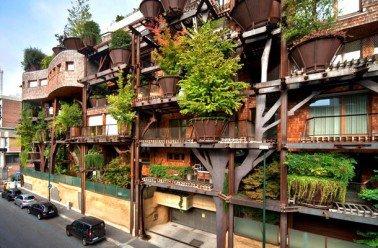 Turin : un « immeuble végétal » qui compte plus de 200 arbres !