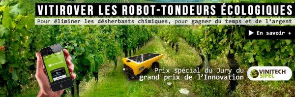 Vitirover : un robot solaire à la place des herbicides chimiques