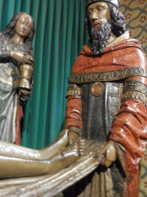 l'Abbaye St Gilles dans le Gard et l'Abbaye St Pierre de Moissac en Tarn & Garonne , nous content le vendredi saint ....