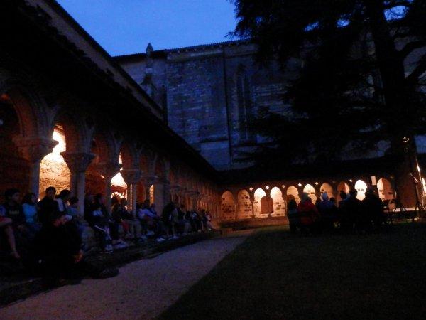 Événement : La Nuit Européenne des Musées le 19 mai 2018  à 21H00 au cloître de Moissac