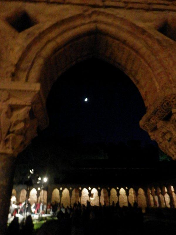 Nuit des musées au  Cloître de Moissac  et présentation de la nouvelle rosière 2018 de Moissac