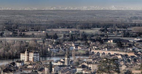 Des racines & des ailes a survolé Moissac et le Tarn et Garonne....
