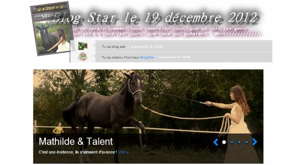 Talent des Sablons & Mathilde