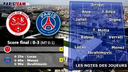 Reims 0-3 PSG