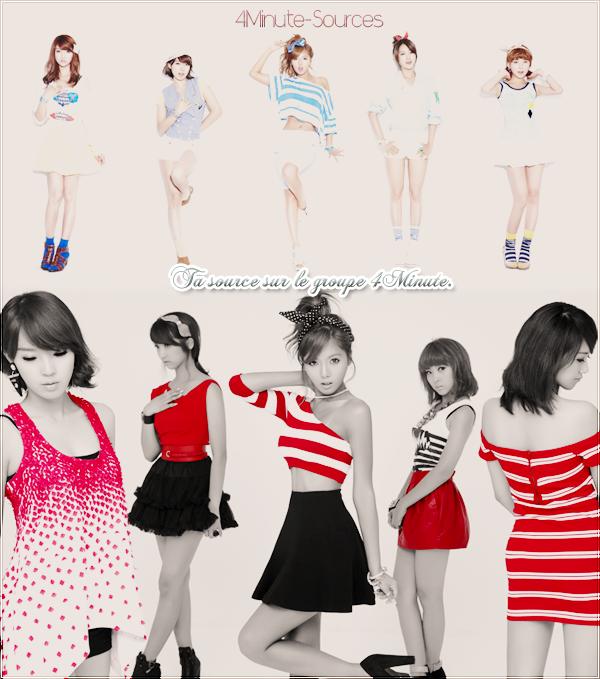 Bienvenue sur ta seule et unique source d'actualité sur le girlsband coréen :  4Minute !
