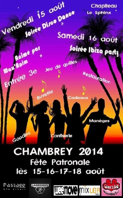 Fête Patronale Chambrey 2014