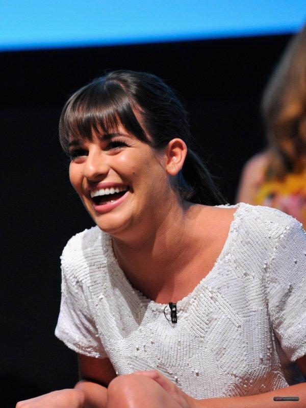 Lea était au Glee Academy Event le 1er mai ! Elle est resplendissante !