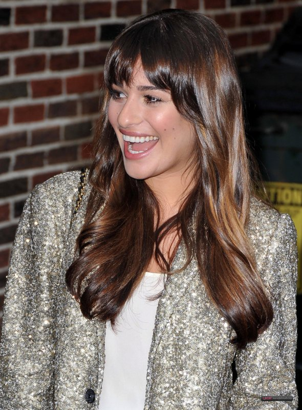 Lea au David Letterman Late Show le 21 Mai