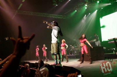 Photos: Lil Wayne produit au Casino Winstar Dans l'Oklahoma