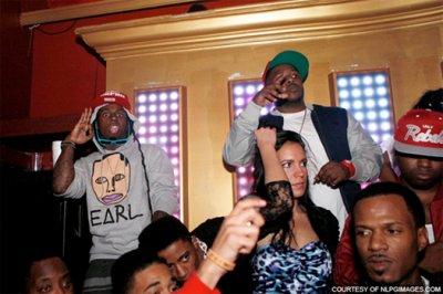 Lil Wayne célèbre la nouvelle année à Dream Club à Miami [Photos & Vidéo]