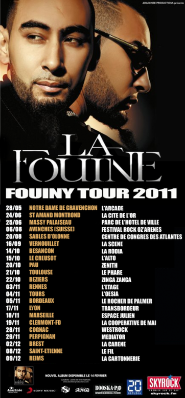 LE FOUINY TOUR EST DE RETOUR !