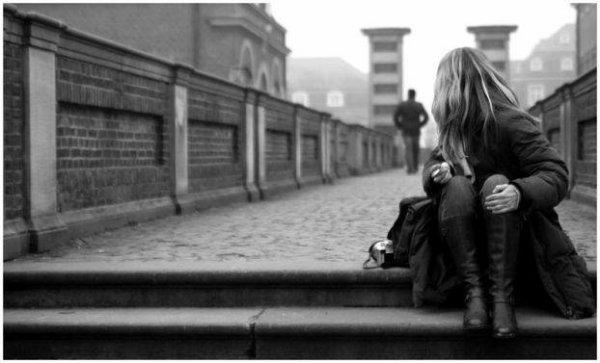 .  Je pars parce que tu ne m'as jamais demandé de rester. .