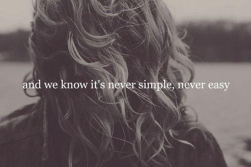 .  Dire à quelqu'un que c'est terminé, c'est laid et faux. Ce n'est jamais terminé. Même quand on ne pense plus à quelqu'un, comment douter de sa présence en soi ? Un être qui a compté compte toujours..