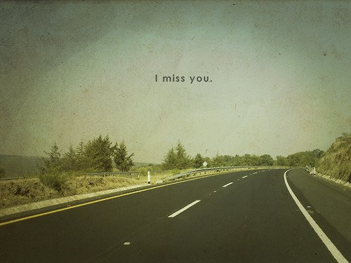 .  J'avais prévu de te dire plein de choses terribles, mais finalement, je veux simplement te dire que tu me manques. .