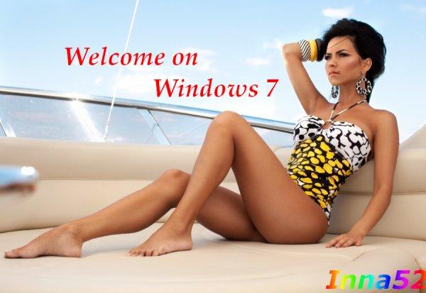 Un fond d'ecran pour windows 7