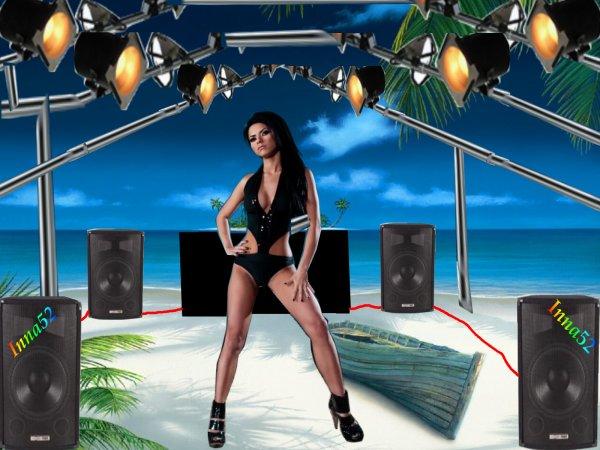 Une petite séance de dance sur la plage