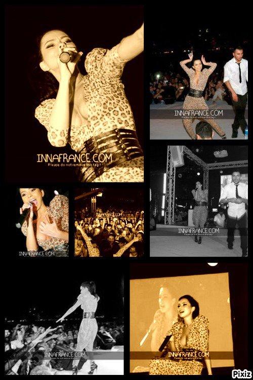 quelques photo du concert a dubai              Photos:Inna-France.com