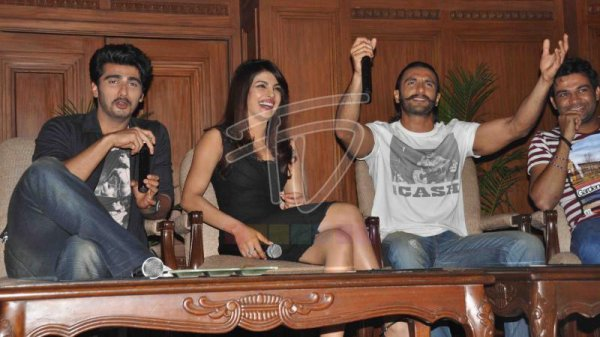 Conférence de presse de Gunday à Kolkata