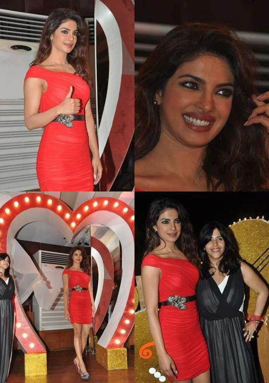 Priyanka Chopra au lancement de la chanson Babli badmaash