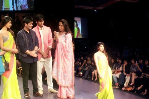 Priyanka à Lakme fashion Week summer – 1er jour