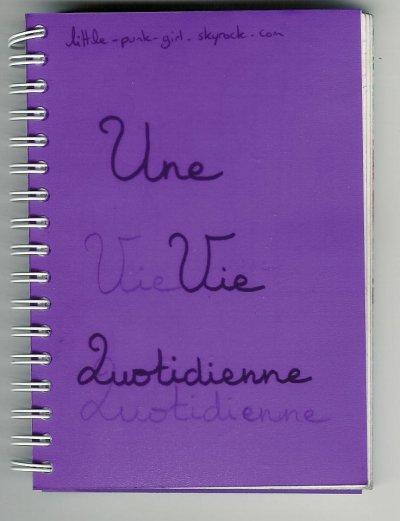 Carnet n°6 La Vie Quotidienne