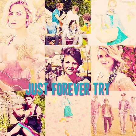 Just forever try