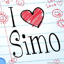 I love simo simo i love simo thecheapjerseys Choice Image