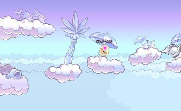 NiiC3-MiSS a voulu visiter le paradis !