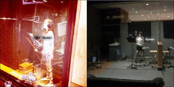 22/04/11 :  B et Z toujours dans des studios d'enregitrement à Toronto.