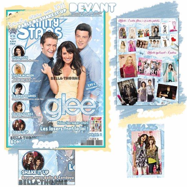 "Le Magazine ""Trinity Stars"" parle de Shake it Up !"
