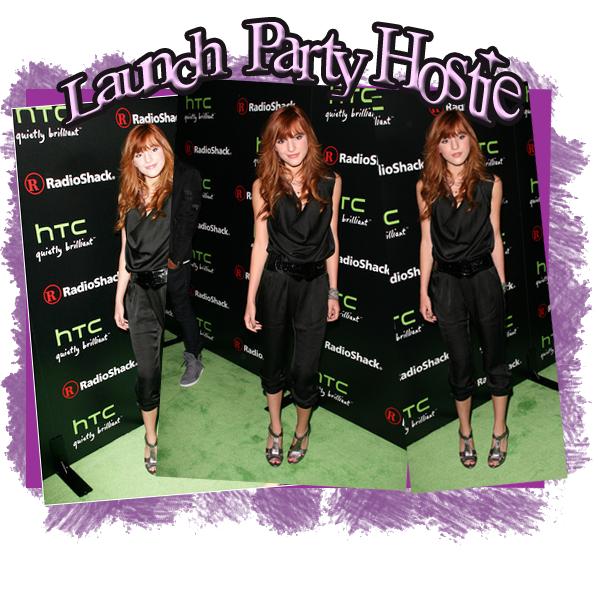 Event :   Bella était présente au HTC EVO 3D Lauch Party Hostie 2011 le 23 juin a Hollywood .