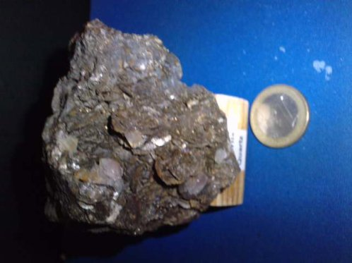 siderite et quartz