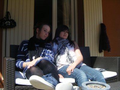 Ma cousine et moi ...