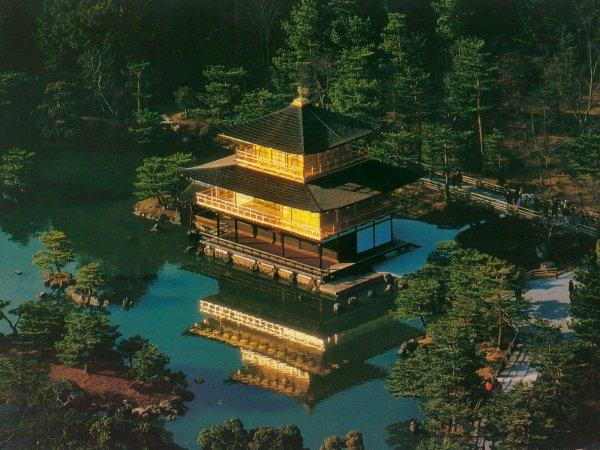 Kyoto - Temple de Kinkakuji