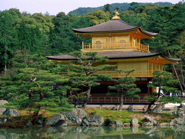 Kyoto - Temple de Kinkakuji (2)