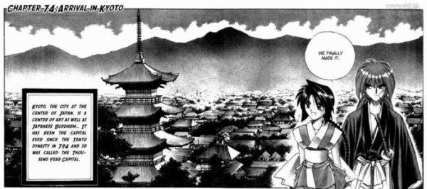 Kyoto en scan - Rurouni Kenshin $)