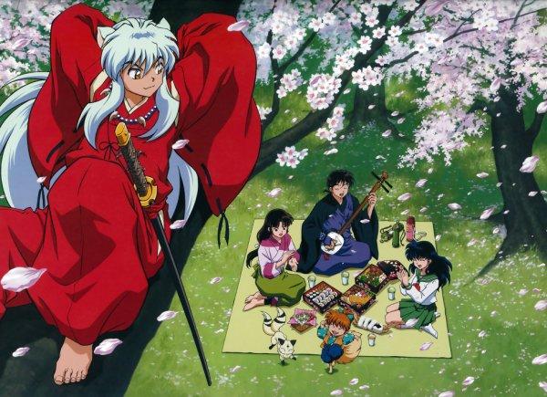 Manga qui nous plonge dans le passé du Japon $) : InuYasha ^^