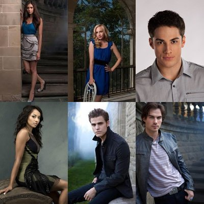 Les acteur de -The Vampire Diaries- <3 .