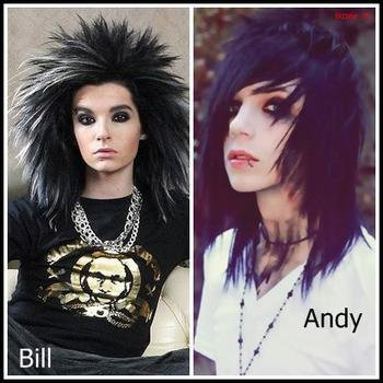 Bill Kaulitz Vs Andy Biersack