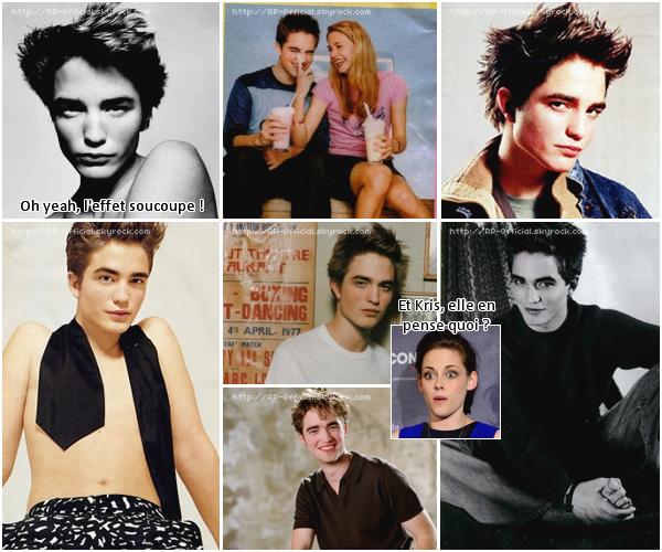 . Robert Pattinson : à l'adolescence, ce n'était pas trop le 'sexy men' actuel ! .