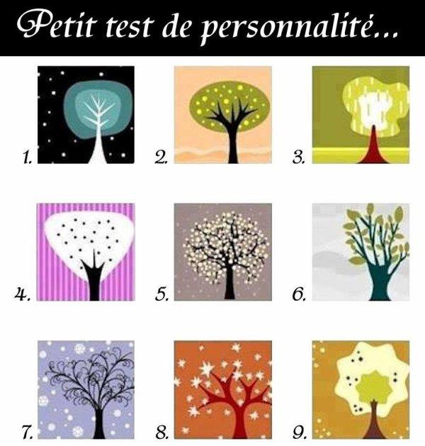test de personnalité