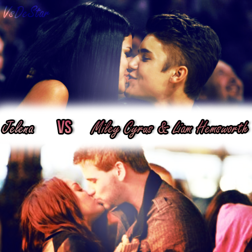 Justin Bieber & Selena Gomez VS Liam hemsworth