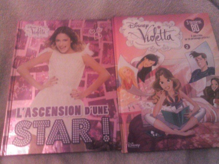 L'ascension d'une star et la bd n°2 de violetta