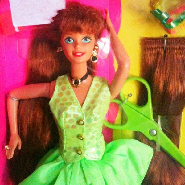 barbie coupe et coiffe