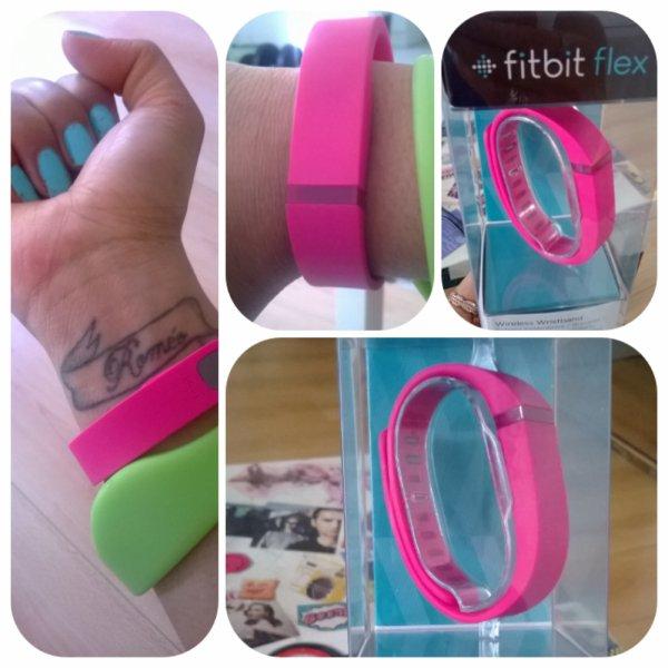 Mon Fitbit Flex!