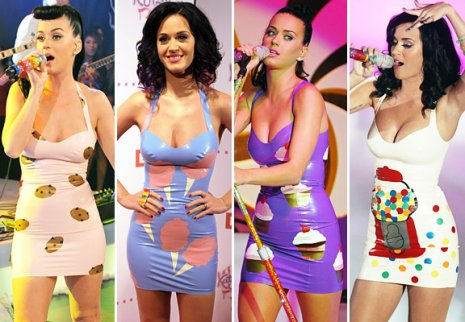 Robe gateau katy perry