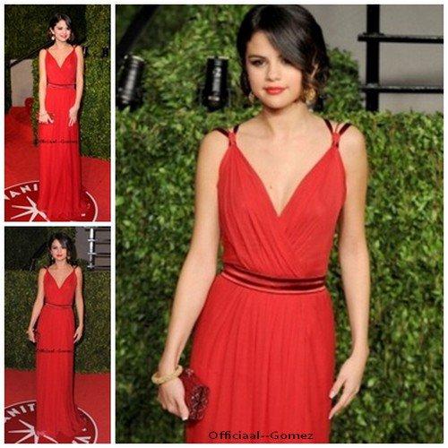 27 / O2 / 11 : Selena était à la Vanity Fair Oscar Party 2011 avec Justin . Jelena à était ensuite vu s'embrasser à la sortit . Vidéo