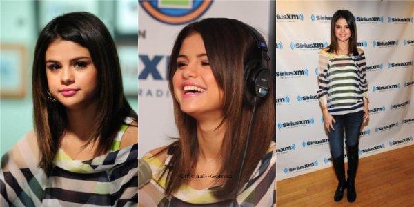 14 / O3 / 11 : Selena était a New-York . Elle est allée a la radio & ensuite à la télé .Vidéo ici & ici