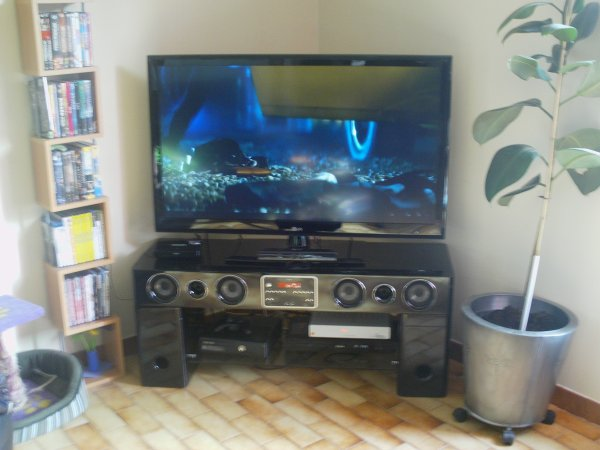 nouvel achat  un meuble home cinema sa decoif